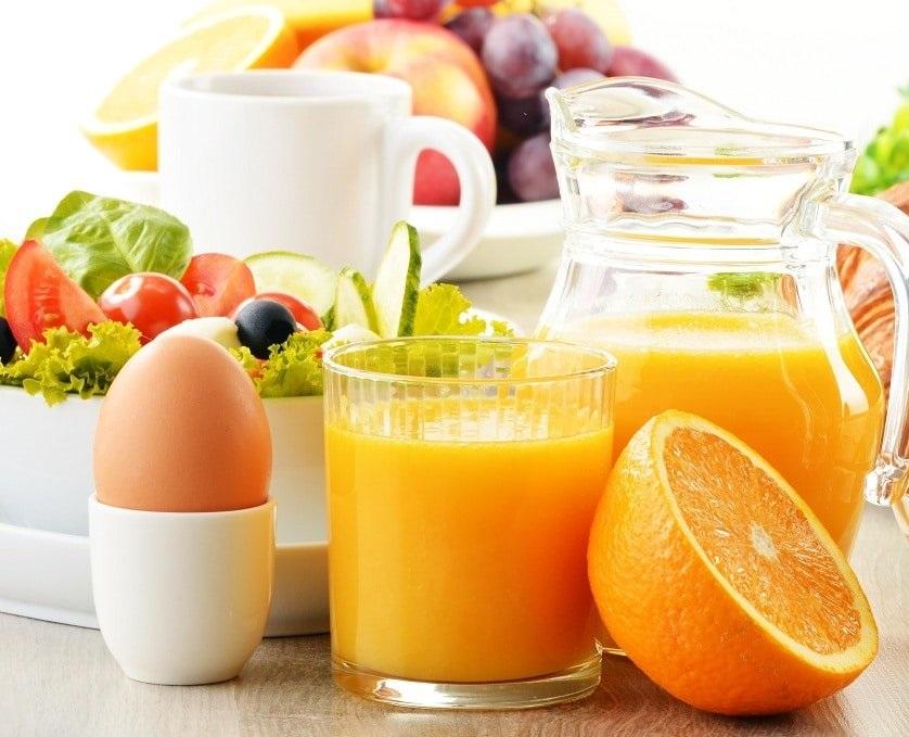 Диета на яйцах и апельсинах