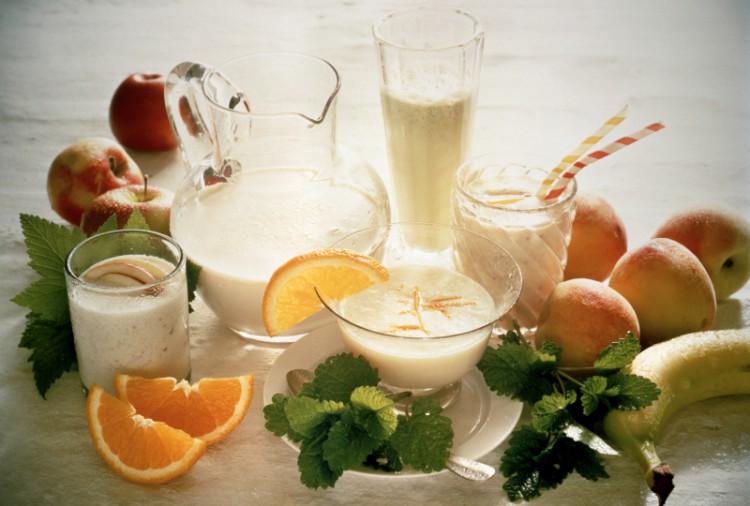 Вегетарианская молочно-фруктовая диета