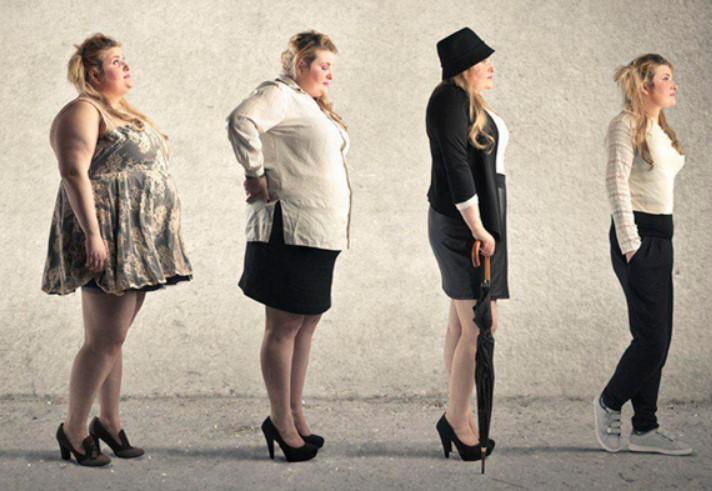 Четыре этапа похудения