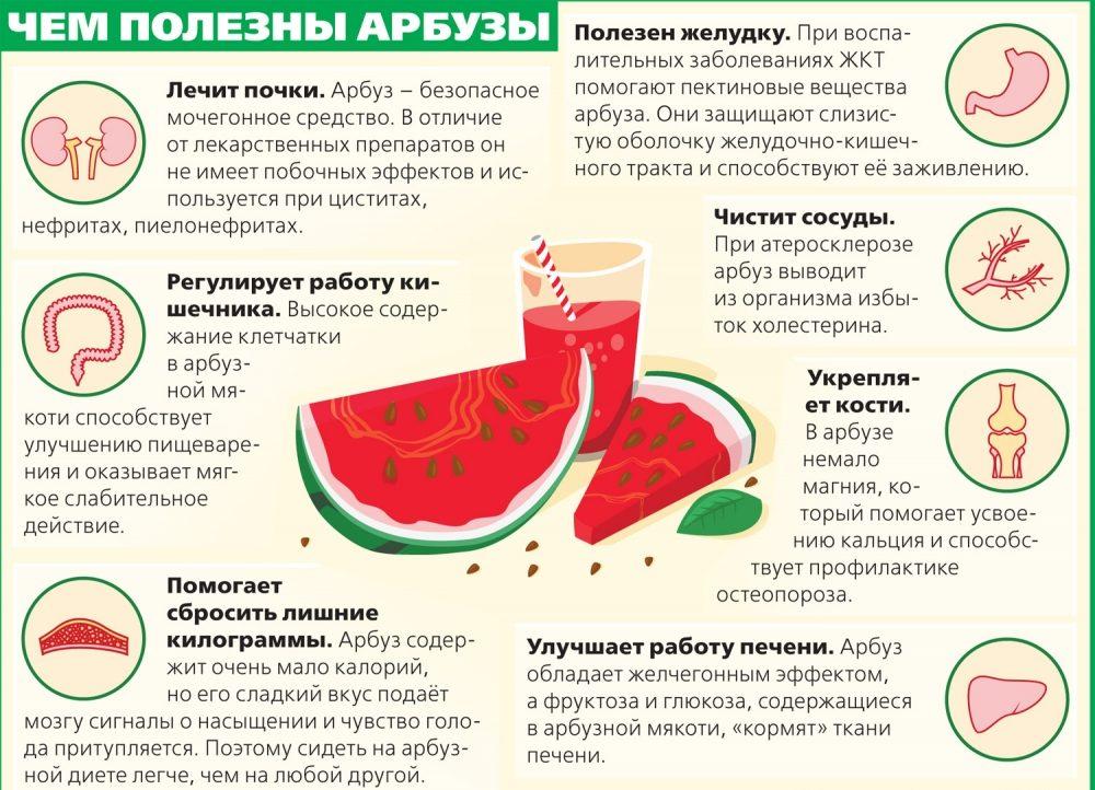 Можно ли кушать арбуз когда на диете