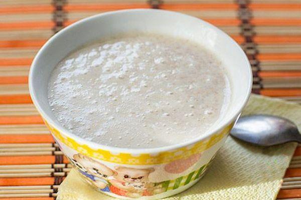 Суп овсяный на молоке