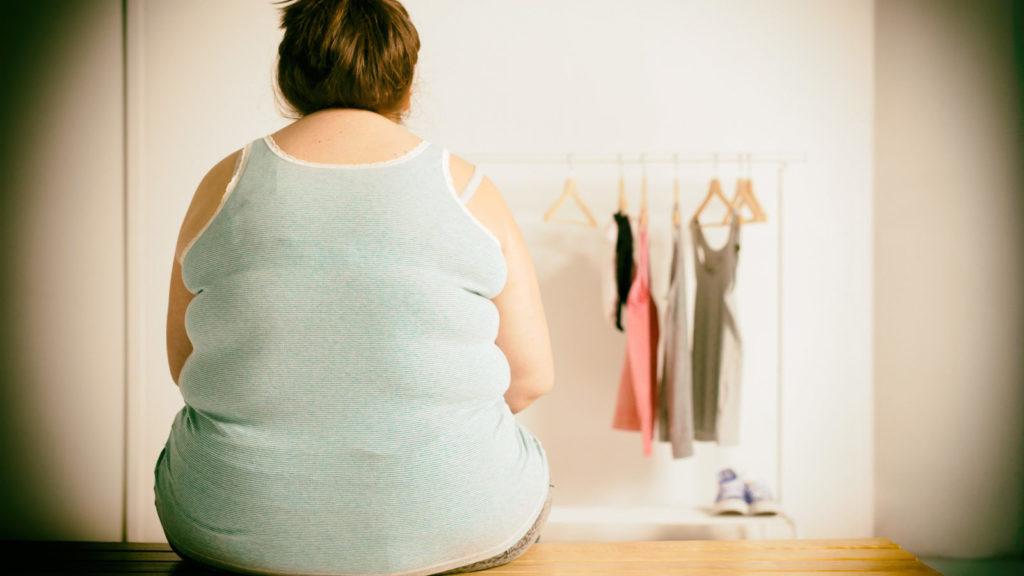 Стали тесными платья