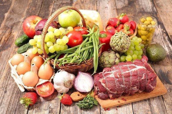 натуральные продукты питания