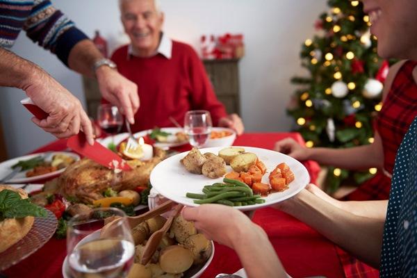 правильное питание за праздничным столом
